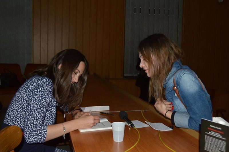 Lansare de carte Madalina Puscalau, Sibiu 2015