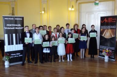 Premiantii festivalului Pro Piano editia a treia 2015