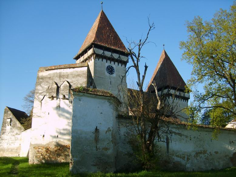 Biserica fortificata din Dealu Frumos