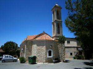 Fyti - Cipru: piaţeta centrală a satului