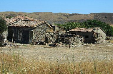 Limnos - ansambluri rurale lângă satul Kontoupoli