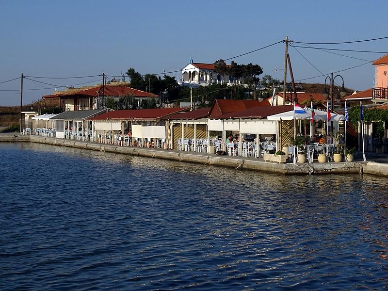 Insula Lemnos - portul din Kotsinas