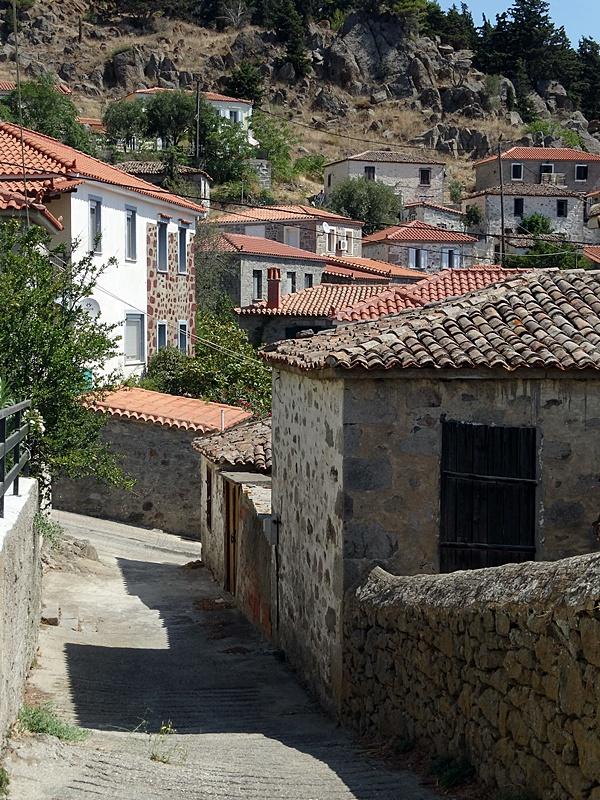 Limnos - satul Kontias
