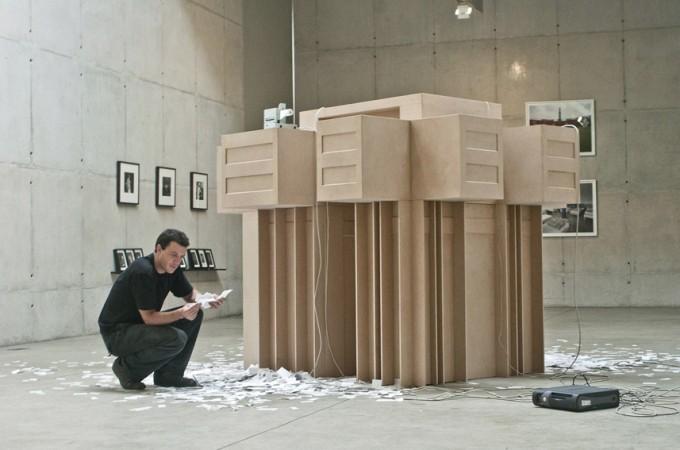 Muzeul de Artă Contemporană Lima. Jose Carlos Martinat: Brutalisma III. Realitate Stereo. Foto: li-mac.org