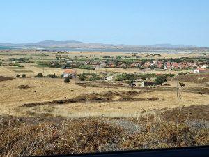 Limnos - peisaj tipic rural