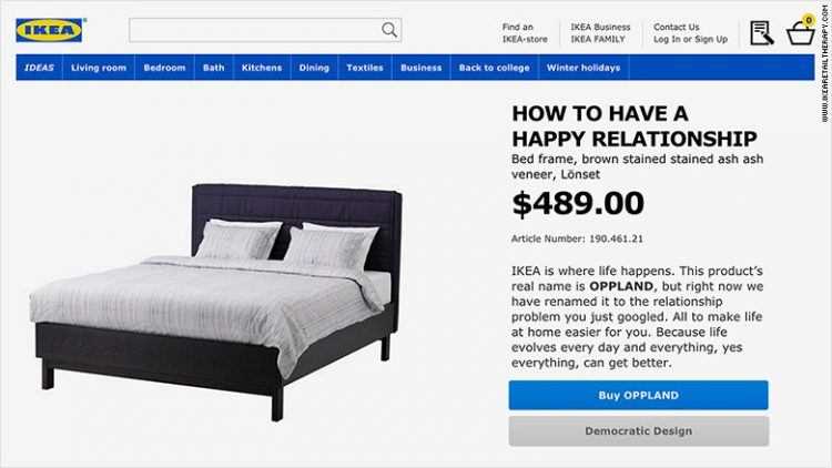 Pat Ikea - Cum să ai o relaţie fericită