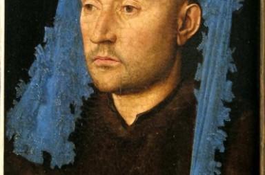 omul cu tichie albastra