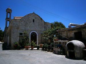 Fyti - Cipru: zona centrală a satului