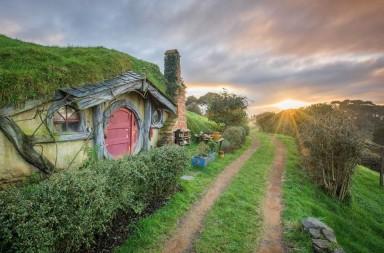 Hobbiton rasarit