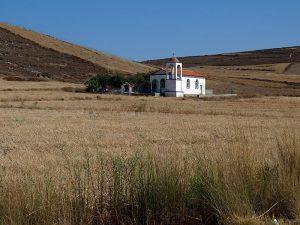 Limnos - capelă lângă satul Plaka