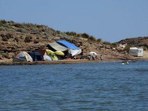 Insula Lemnos - plaja Gomati