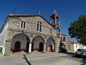 Limnos - satul Dafni - biserica Agioi Anargiroi