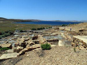 Limnos - Teatrul antic din Hefaistia