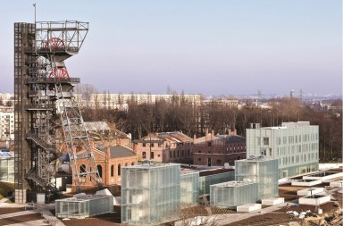 "Muzeul Silezian din Katowice. Foto pentru ""Polska. Arhitektura"": Marcin Czechowicz"