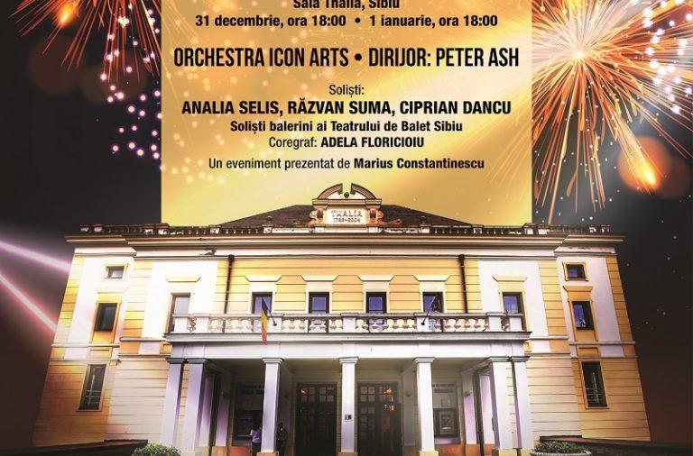 Poster Concertul de Anul Nou de la Sibiu 2019