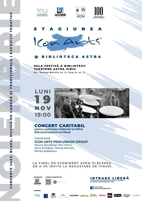 Poster Stagiunea ICon Arts Biblioteca ASTRA